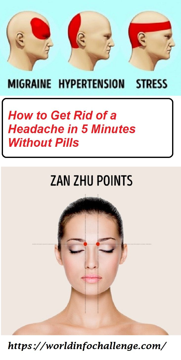 15++ Weird ways to cure a headache inspirations