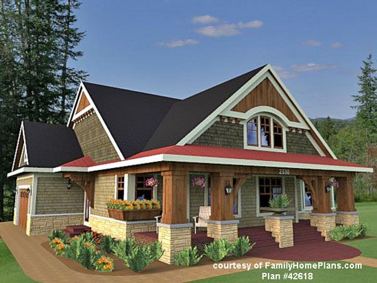 Best Rambler House Ideas On Pinterest Rambler House Plans - Craftsman style house plans with front porches