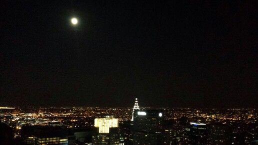 New York super moon