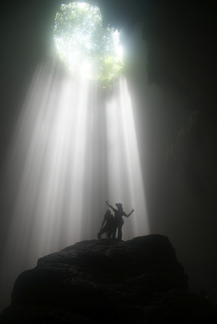 Jomblang Cave,Indonesia
