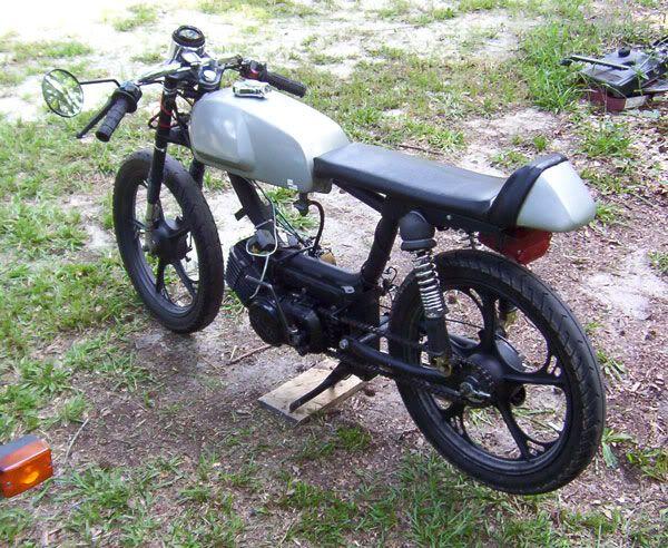 mofa cafe racer motorrad bild idee. Black Bedroom Furniture Sets. Home Design Ideas