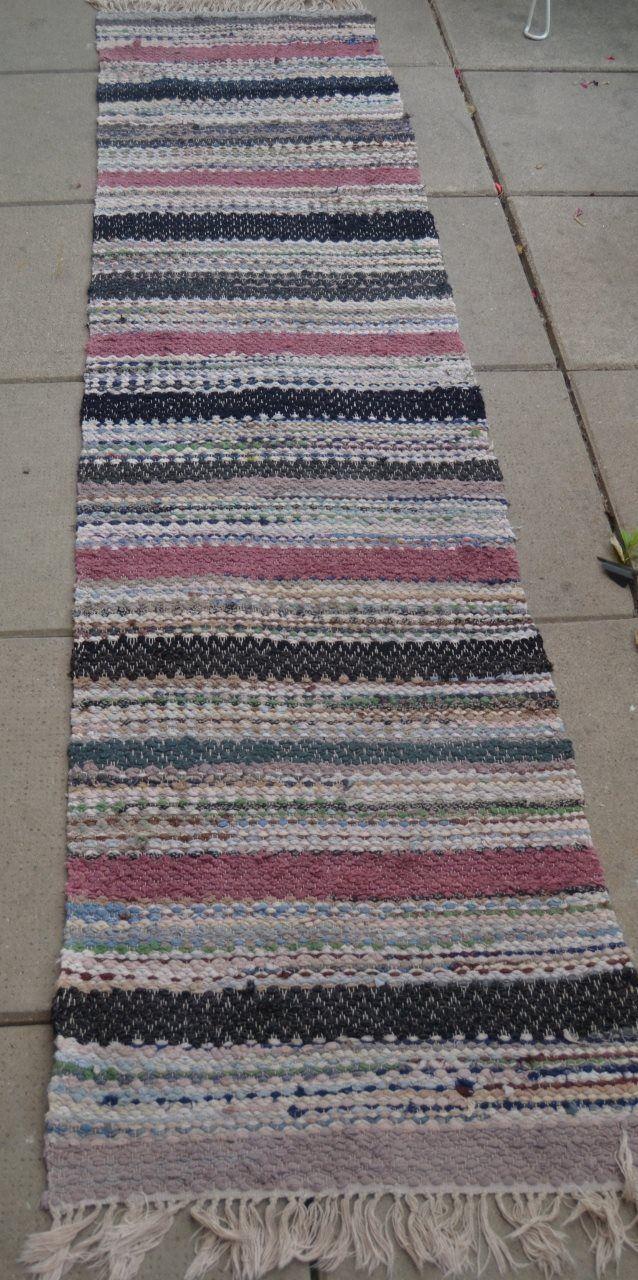 36 best Twining Rag Rugs images on Pinterest | Rag rugs, Twine and ... : trasmatta plast : Inredning