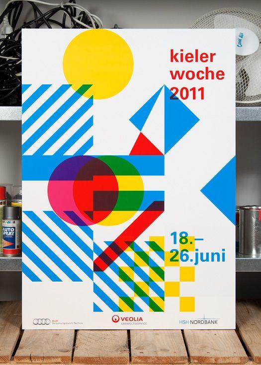 Kieler Woche Poster Entwurf by HORT 2011