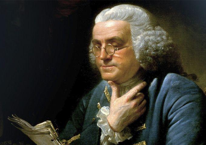 Будучи выходцем из бедной многодетной семьи, Бенджамин Франклин получил хорошее образование из книг. Именно позволило ему достичь семейного и финансового благополучия!