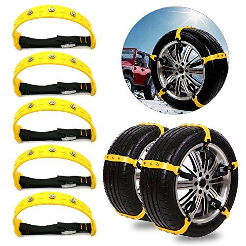 Tire Chains, Snow Chains, Car Tire Snow Chains Mud Emergency Driving Car Security Chain Adjustable for Car SUV Trucks Vans Minivans 10PCS. For product info go to:  https://www.caraccessoriesonlinemarket.com/tire-chains-snow-chains-car-tire-snow-chains-mud-emergency-driving-car-security-chain-adjustable-for-car-suv-trucks-vans-minivans-10pcs/