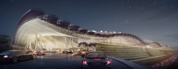 Taoyuan Airport T3 · Projects · Rogers Stirk Harbour + Partners
