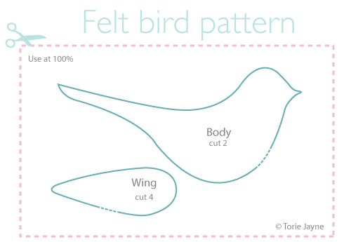 Felt bird pattern free download                                                                                                                                                                                 More