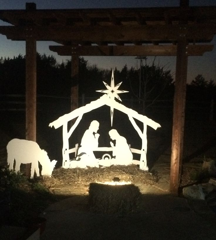 A great nativity set for apartments, small yards and decks. Standard in size but the artistry, detail and quality material can't compare.