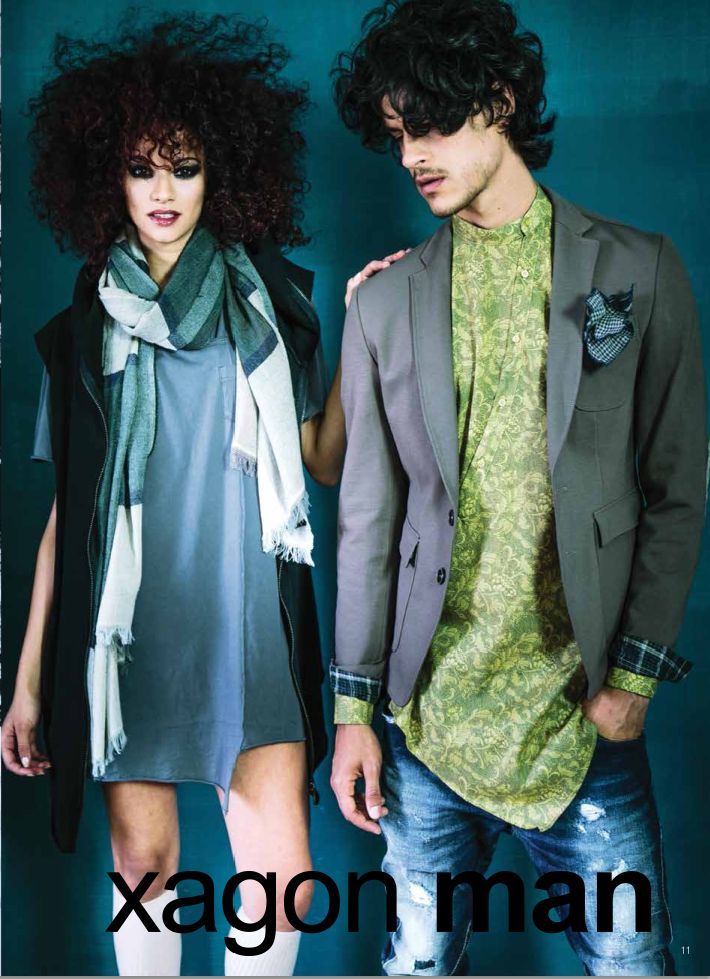 #CASUALCHIC collection FW 14/15 by Xagon Man. See more @xagonman.it