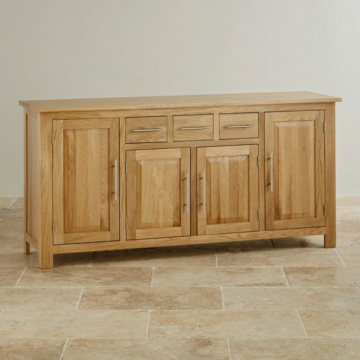 Rivermead Solid Oak Large Sideboard from the Rivermead Solid Oak range by Oak Furniture Land