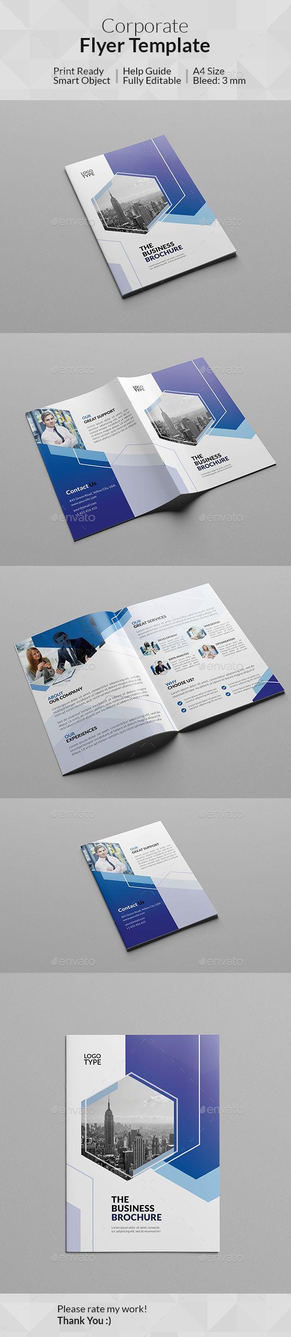 #Corporate #Bi-Fold Brochure - Corporate #Brochures