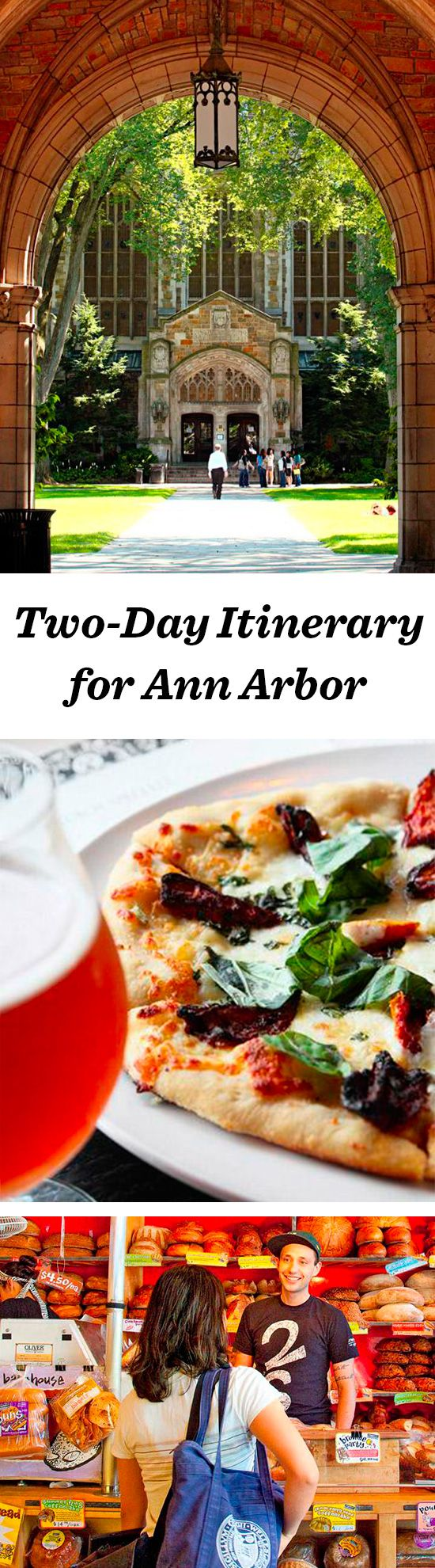 Ann Arbor, the University of Michigan's cool hometown, supports a world tour of great restaurants, shopping and art: http://www.midwestliving.com/travel/michigan/ann-arbor/two-day-getaway-to-ann-arbor/ #annarbor #michigan #travel