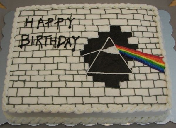 Pink Floyd Cake Images : Pink Floyd - The Wall/Dark side of the moon cake! Party ...