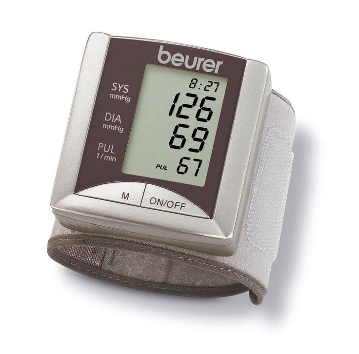 #Blutdruckmessgerät für das Handgelenk, 60 Speicherplätze