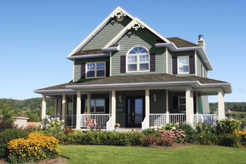 Exterior color collection by diamond vogel color by - Country style exterior house colors ...