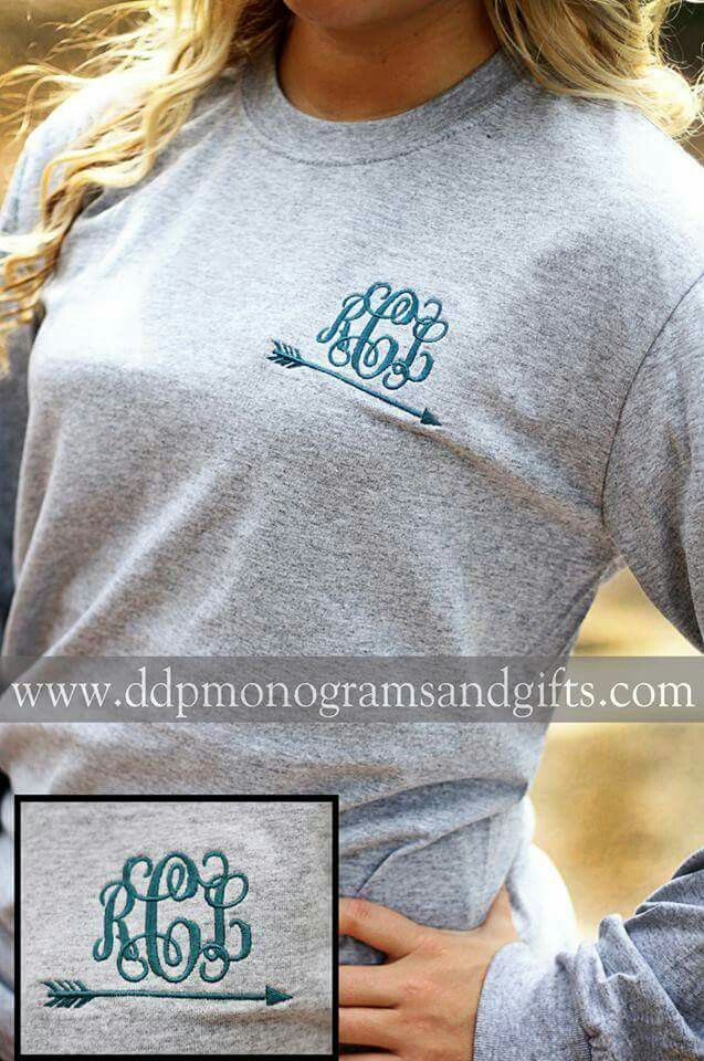 Monogram with an arrow