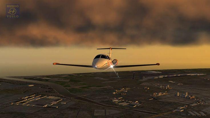 Aterrizaje visual en El Prat, Barcelona - Visual Landing at El Prat, Bar...
