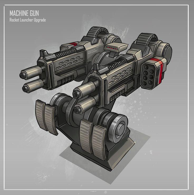 fallout 4 heavy machine gun turret