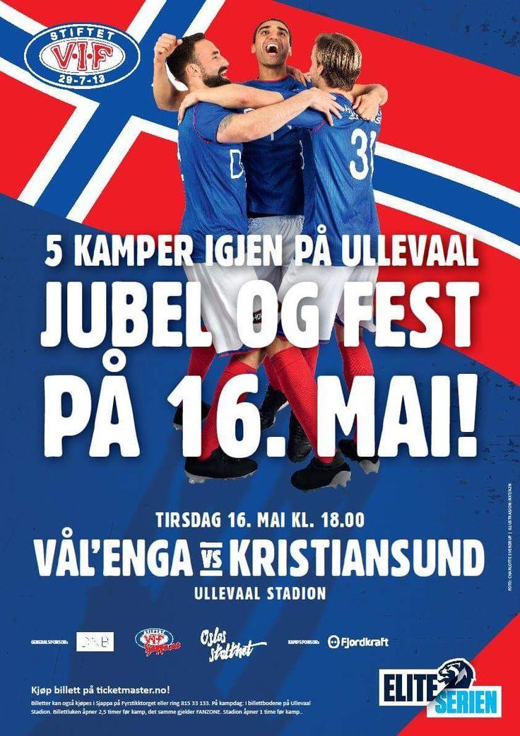 Fotballens festdag 2017: Vålerenga - Kristiansund  på Ullevaal stadion! ⚽️