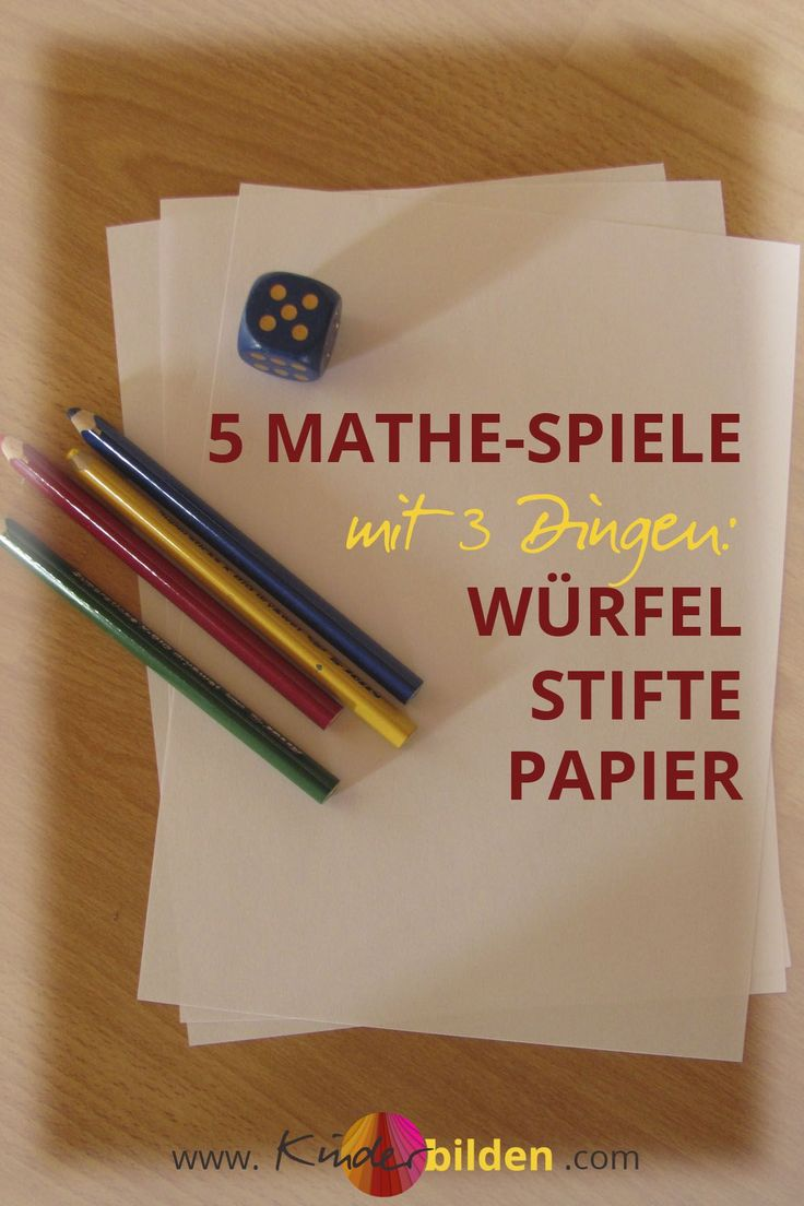 Mathe Spiele Ideen | Würfel Zahlen Kinder | Kindergarten Vorschule Lernspiele | Bingo Gewinn-mit-Vier