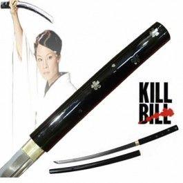 Fudoshin Samurai Swords: Kill Bill Oren ishii katana/shirisaya