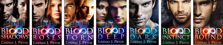 Blackthorn Book Series- Lindsay J. Pryor     Paranormal Romance Series