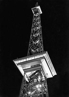 Funkturm Berlin - Nachtaufnahme 1926