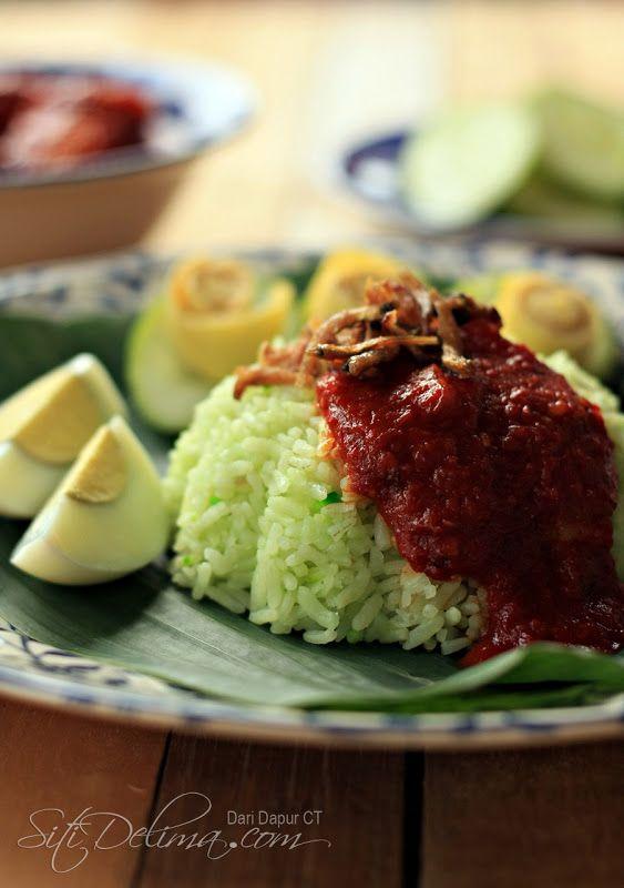 Nasi Lemak Aroma Pandan ~ :: Dari Dapur CT :: #rice #breakfast