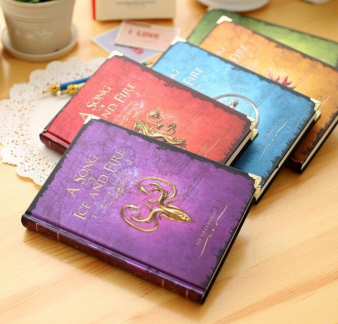 #gameofthrones #starks #westeros  #tyrionlannister #aryastark #branstark #kingjoffrey #cersei #WinterIsComing Free Shipping Game of Thrones Notebooks Vintage Hardcover Notebook for Gift  A Song of Ice and Fire