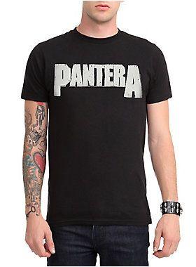 Black T-shirt with classic Pantera logo design.<ul><li> 100% cotton</li><li>Wash warm; dry low</li><li>Imported</li><li>Listed in men's sizes</li></ul>