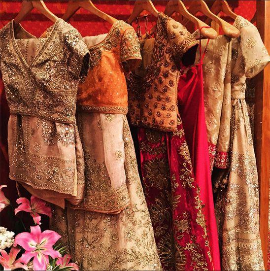 Inside Ritu Kumar's stall