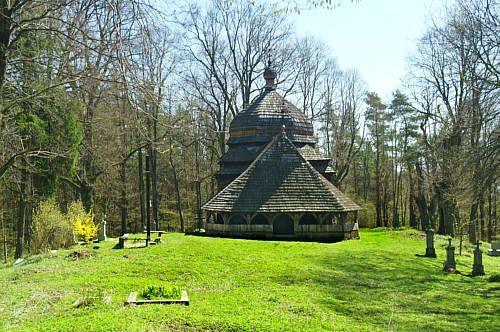 Ulucz - Drewniana cerkiew z XVII w.
