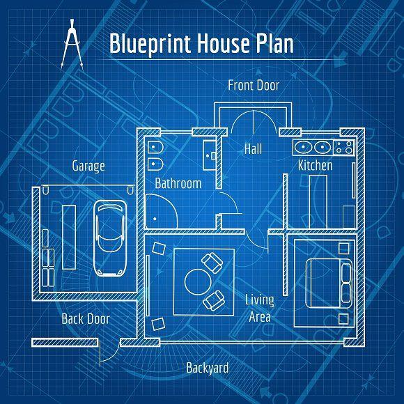 Blueprint House Plan House Plans Blueprints How To Plan
