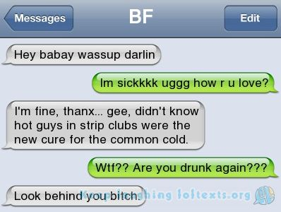Cheaters caught via text! Duh BUSTED!! Click for all Pictures, humor, funny, lol, lmao, jokes, unfaithful, stupid