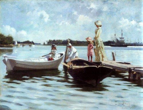 Summer In The Archipelago - Albert Edelfelt (1854 – 1905, Finnish)