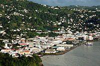San Vicente y las Granadinas Kingstown es la ciudad con más población de San Vicente y las Granadinas.
