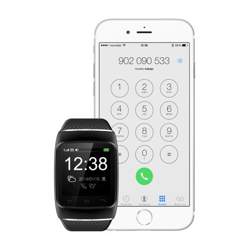 Reloj bluetooth unotec watch-bt