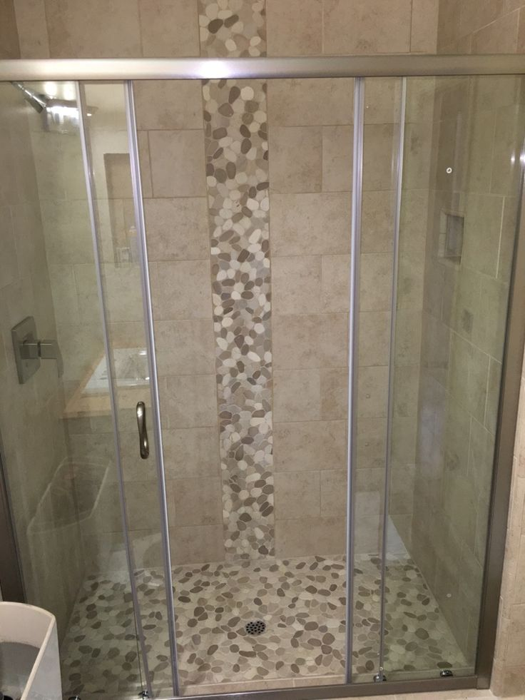 540 Best Images About Bathroom Pebble Tile And Stone Tile