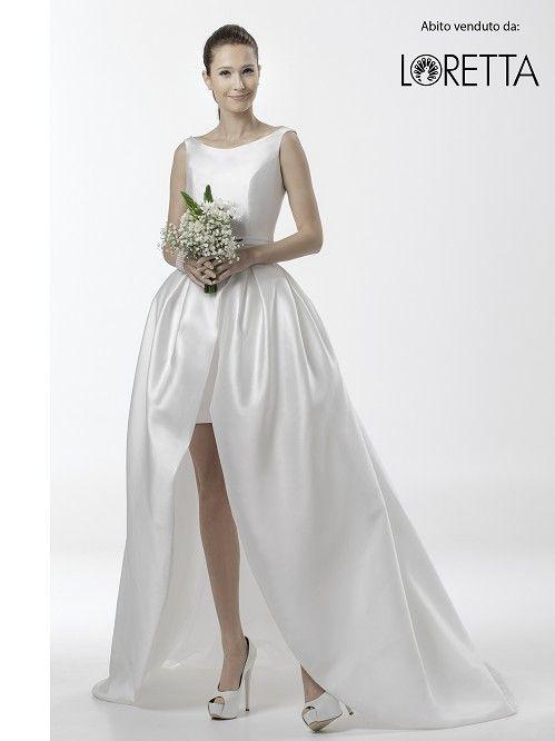 Collezione 2016 | Abito da sposa in tessuto lucido #matrimonio #sposa #wedding #weddingdress