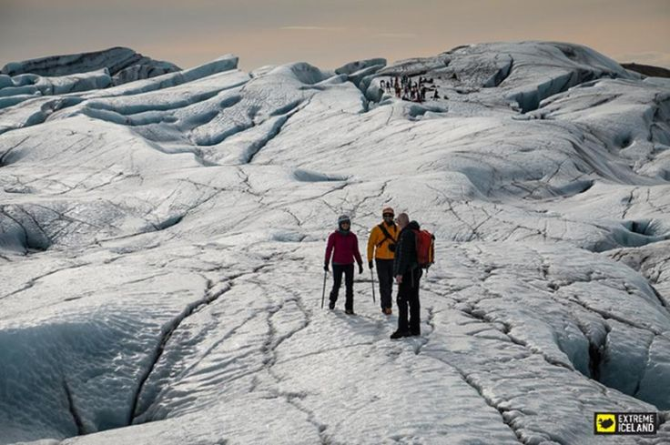 This tour gives you the chance to hike through the spectacular glacier formations and rugged crevasses of the Svínafellsjökull glacial tongue in Skaftafell Natural reserve, with the safety of an expert glacier guide. Put on your ice crampons and get ready to be astounded by nature's beauty with Tourboks!