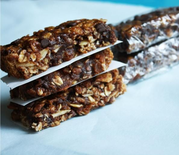 Chocolate Chip Protein Bars - 50 Healthiest Recipes Known to Man - 50 Healthiest Recipes Known to Man - Men's Fitness