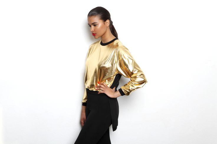 R/H Golden sweater