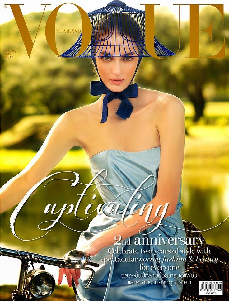 Vogue Thailand, February 2015.