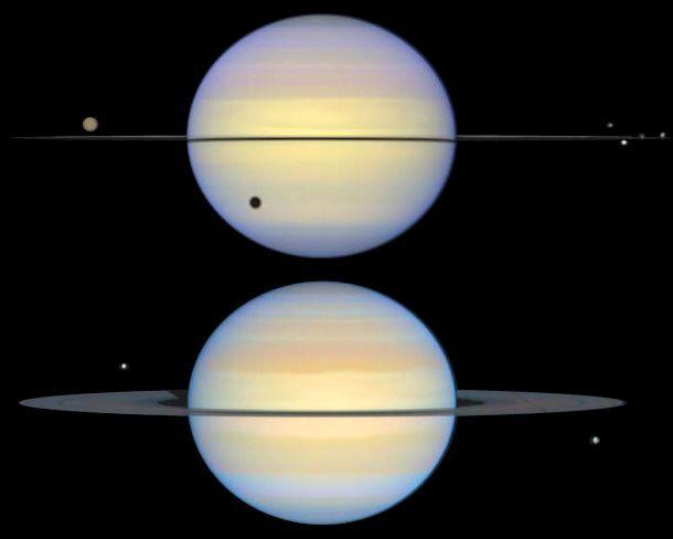 Saturno es el auténtico Señor de los Anillos del Sistema Solar. Es el sexto planeta desde el Sol y el segundo más grande. La peculiaridad más conocida de Saturno es la de estar rodeado de un sistema de anillos