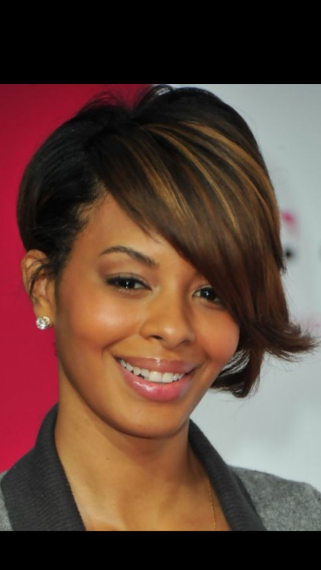 Short On One Side Bob Short Med Bobs Hairstyles