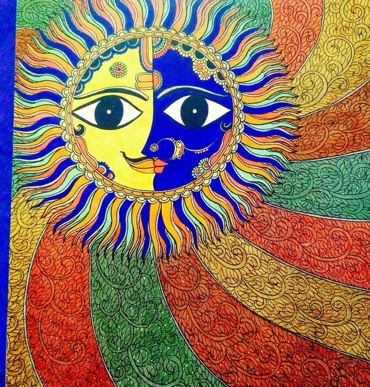 Three things can not be long hidden ;The Sun , The Moon and the Truth...with a love like Sun & Moon His truth lights the whole Sky !! Happy chhath puja !!