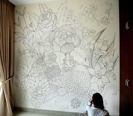 15 amazing diy sharpie walls. Interior Design Ideas. Home Design Ideas