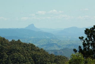 this is the view from O'Reilly's in SE QLD Australia, I think the mountain in the distance is Mt Cougal East (which I climbed, in my youth!)