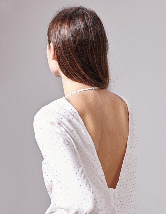 En Stradivarius encontrarás 1 Camisa escote espalda para mujer por sólo 12.99 España . Entra ahora y descúbrelo junto con más BLUSAS.