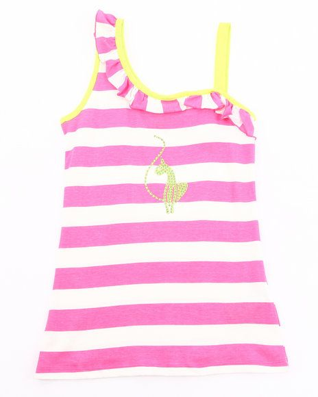 22.00 The Striped One Shoulder Top by Baby Phat